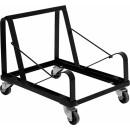 Flash Furniture HERCULES Series Black Steel Sled Base Stack Chair Dolly [XU-MC168-DOLLY-GG] width=