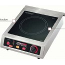 Induction Wok Range, Countertop, 9 power settings, 5 hold/warm temperature settings, rotory knob con... width=