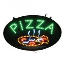 Winco LED-11 LED PIZZA Sign with Dust-Proof Cover width=