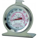 Oven Thermometer, temperature range 50 to 500 F, dial type, 2'', NSF width=