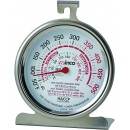 Oven Thermometer, temperature range 50 to 500 F, dial type, 3'' width=