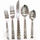 10 Strawberry Street PAN-DF Panther Link Dinner Fork 18/0 - Case of 12 width=