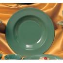 Thunder Group CR5811GR Green Melamine Pasta Bowl 16 oz. (1 Dozen) width=