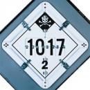 Placard Holder 5 Legend Worded Sets [14X14 Aluminum] width=
