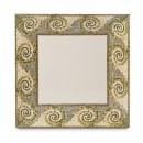 "GET Enterprises ML-104-MO Mosaic Square Melamine Plate, 10"" (1 Dozen) width="