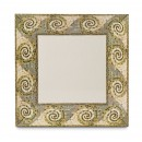 "GET Enterprises ML-90-MO Mosaic Square Plate, 12""(6 Pieces) width="