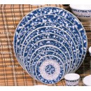 Thunder-Group-1006DL-Blue-Dragon-Round-Plate-6-quot---1-Dozen-