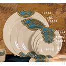"""Thunder Group 1006J Wei Round Plate 6-1/5"""" (1 Dozen) width="""