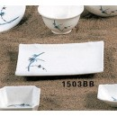 Thunder-Group-1503BB-Blue-Bamboo-Plate-6-3-4-quot--x-4-1-2-quot---1-Dozen-