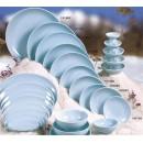 "Thunder Group 1908 Blue Jade Round Plate 8-7/8"" (1 Dozen) width="