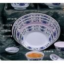 "Thunder Group 2110TB Lotus Deep Oval Platter 10"" x 7-1/2"" (1 Dozen) width="