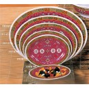 """Thunder Group 2012TR Longevity Oval Platter 12"""" x 8-5/8"""" (1 Dozen) width="""