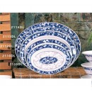 """Thunder Group 2112DL Blue Dragon Oval Deep Platter 12"""" x 9"""" (1 Dozen) width="""