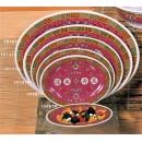 """Thunder Group 2008TR Longevity Oval Platter 8"""" x 6"""" (1 Dozen) width="""