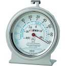 Refrigerator/Freezer Thermometer, temperature range -20 to 70 F, dial type, 3'' width=