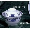 Rice/Noodle Bowl Lid Only, 5-1/4'' Dia., Melamine, Lotus, Nsf (1 Dozen/Unit) width=
