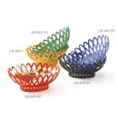 "GET Enterprises OB-940-RO Rio Orange Oval Basket, 10""x 8-1/4""(1 Dozen) width="