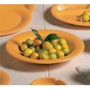 Thunder Group CR5809YW Yellow Melamine Salad Bowl, 13 oz. (1 Dozen) width=