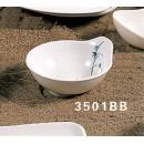 Thunder Group 3501BB Blue Bamboo Sauce Dish 6 oz. (1 Dozen) width=