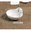 Sauce Bowl, 6 Oz., 4-1/2'' Dia., Melamine, Blue Bamboo, Nsf (1 Dozen/Unit) width=