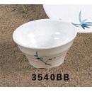 Thunder Group 3540BB Blue Bamboo Deep Saucer 6 oz. (1 Dozen) width=