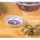 "Thunder Group 1101TP Peacock Sauce Dish 2-3/4"" (1 Dozen) width="
