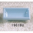"Thunder Group 1901 Blue Jade Square Sauce Dish 3-3/4"" x 2-1/2"" (1 Dozen) width="
