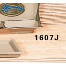 "Thunder Group 1607J Wei Wave Shape Sauce Dish 4""  x  2-3/4"" (1 Dozen) width="