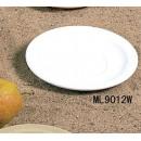 Saucer, 5-1/2'' Dia., Melamine, White, Mile Stone, Nsf (1 Dozen/Unit) width=