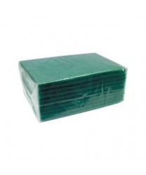 """Winco SP-96 Green Scouring Pad, 6"""" x 8-3/8"""" (10 Pieces)"""