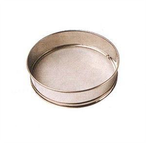 Winco Siv 12 Mesh Sieve With Stainless Steel Rim 12 Quot X 3