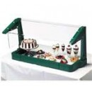 Sneeze Guard, Free Standing, For Single Service, Buffet Style, 48''L X 16-1/2''W X 24-1/2''H, With width=