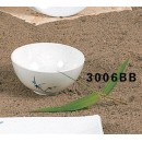 Thunder Group 3006BB Blue Bamboo Soup Bowl 8 oz. (1 Dozen) width=