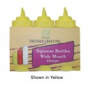 Squeeze Bottle, 24 Oz., Plastic, Yellow, Wide Mouth (1 Pack/Unit) width=