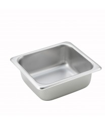 Winco SPS2 1/6 Size Steam Table Pan, 2-1/2'' Deep