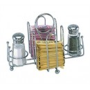 Sugar Packet & Shaker Holder, Chrome Plated width=