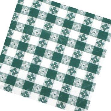 Winco Tbco 70g Green Checkered Oblong Table Cloth 52 Quot X 70