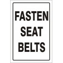 Traffic - Fasten Seat Belts [18X12 Aluminum] width=