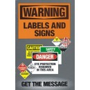 Warning Labels & Signs Training 5.5 X 8.25 Paper Safetybooks width=