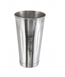 Winco MCP-30 Stainless Steel Malt Cup, 30 oz.